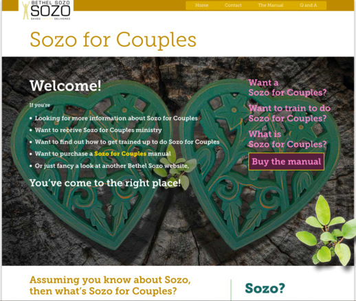 Sozo for Couples